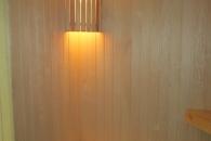 новые светильники и стены