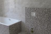 ремонт ванной комнаты в коттеджей