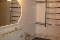 Отремонтированная ванная в квартире